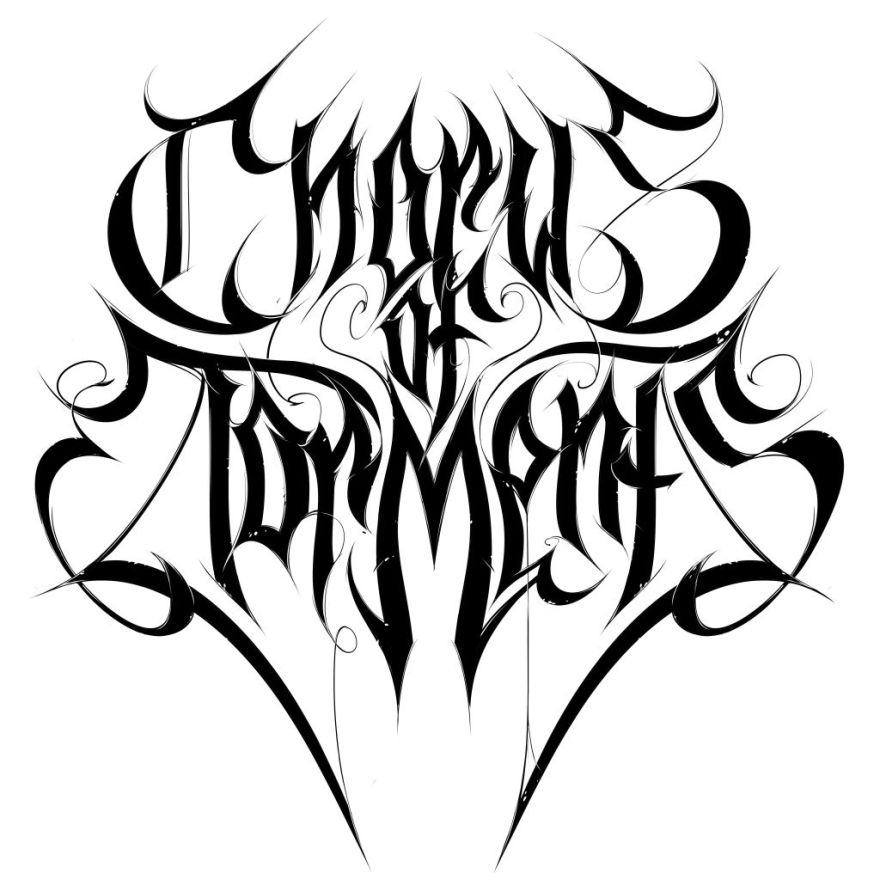 Chorus of Torments, logo, blackmetal, tundra toucan, metal, logotype, logodesign