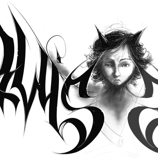 logo, blackmetal, logodesign, logotype, angel, varlac, varlak, demon, devil